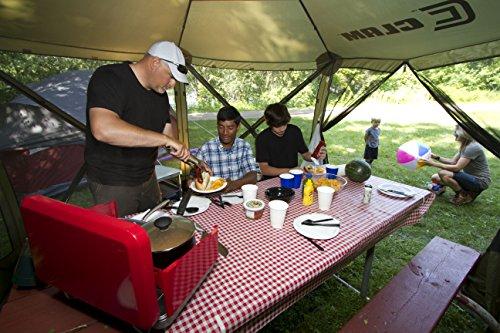 Quick Set 9879 Tent, 140 x 140-Inch, Brown/Tan