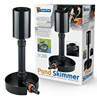 Powerful free standing skimmer that helps to remove debris and leaves from pond water. Tiltable base, allowing for optimum positioning on sloping pond floors Adjustable Height from 32-59cm / 55-83cm Removeable collection basket makes the skimmer easi...