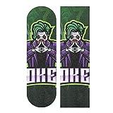 Nigbin Cute Sugar Joker Skateboard Grip Tape Sheet Bubble Free Longboard Griptape Graphic 33'X 9' Sheets Stickers