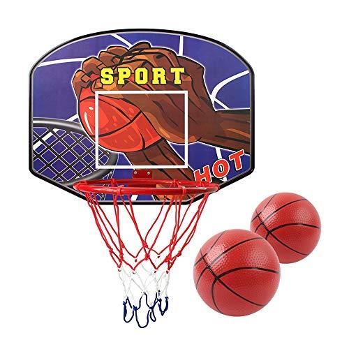 XINGLIAN An Der Wand Montiert Hölzern Basketballbrett Innen- Basketballkorb Für Teens Kinder Indoor-Outdoor-Übung, Training Und Spiele 3 Größen (Size : 49cm)
