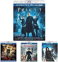 Priest (3D) + Resident Evil: Afterlife (3D) + Resident Evil: Retribution (3D) + Underworld: Awakening (3D)