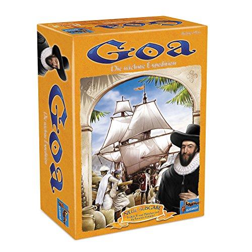 Lookout Games 22160049 - Goa, Spiele