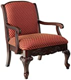 Source One Sutton Magenta Arm Upholstered Chair