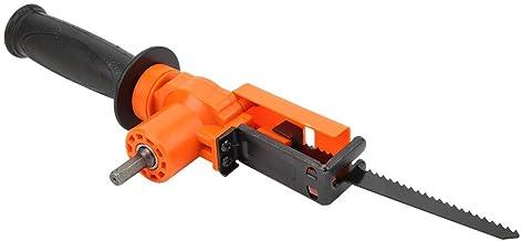 Adaptador de Sierra recíproca Accesorio de carpintería portátil de Mano Herramienta de Taladro eléctrico 800-1500 RPM Plástico + Hierro para Cortar Madera