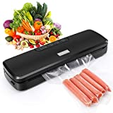 GOSCIEN Food Vacuum Sealer Machine, Automatic Vacuum Sealer System Food Sealer Vacuum Packing