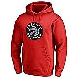 FANS LOVE Teen Hoodie NBA Toronto Raptors Jersey De Entrenamiento De Baloncesto De Manga Larga para Uso Diario Y Camisetas De Juego De Baloncesto Red-L