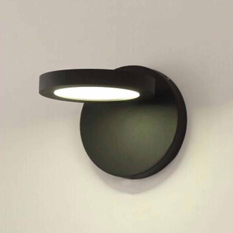 SiwuxieLamp Wandleuchte Kreative Persnlichkeit Nachttisch Schlafzimmer Gang Wohnzimmer einfache moderne Nordic Treppe führte Wand, A Halterung Licht