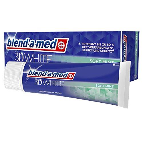 Blend-a-med 3DWhite Sanfte Minze Zahnpasta 75ml, 12er Pack (12 x 75 ml)