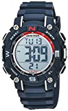 Armitron Sport Unisex 45/7099NVY Digital Chronograph Navy Blue Resin Strap Watch