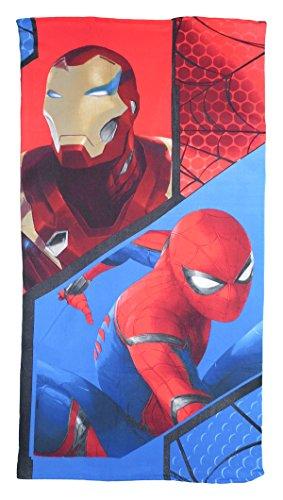 Spiderman Strandtuch 70x140 cm Duschtuch Saunatuch Kinder Badetuch Handtuch