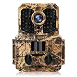 20MP Trail Camera 1080P Full HD Game Camera Night Vision 120° Wide Angle 0.2s Trigger Time Trail...