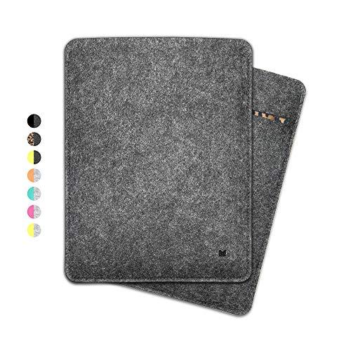 FORMGUT iPad Case, Tablet Sleeve Felt Case for iPad Mini 7.9 Inch (Generation 1-5) / Tablet Bag, Felt Case, Protective Case, Felt Bag, Protective Bag, Cover/Dark Grey Leo