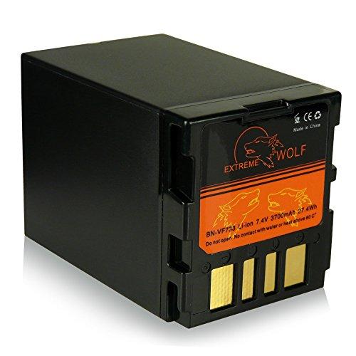 Power Batería BN-VF733 / BN-VF733U para JVC GR-D239 | GR-D240 | GR-D245 | GR-D246 | GR-D247 | GR-D250 | GR-D270 | GR-D271 | GR-D275 | GR-D290 | GR-D295 | GR-D325 | GR-D345 | GR-D360 | GR-D370 | GR-D450 | GR-D640 | GR-D645 | GR-D650 | JVC GR-DF420 | GR-DF425 | GR-DF430 | GR-DF450 | GR-DF470 y mucho más...