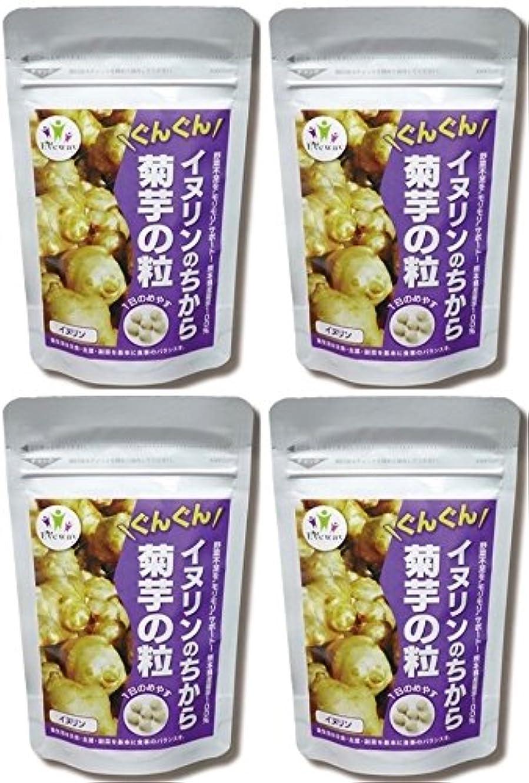 ゴミ箱を空にするモロニック懲らしめイヌリンのちから 菊芋の粒 (180粒)4個組