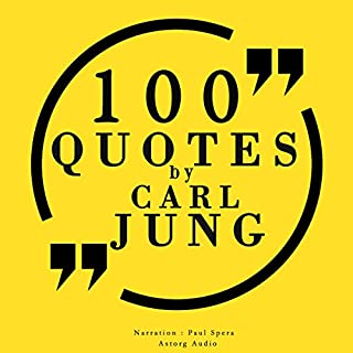 100 quotes by Carl Jung                   By:                                                                                                                                 Carl Jung                               Narrated by:                                                                                                                                 Paul Spera                      Length: 26 mins     2 ratings     Overall 5.0