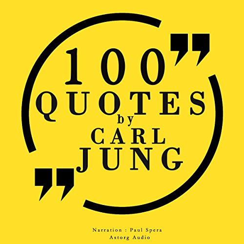 100 quotes by Carl Jung audiobook cover art