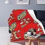 Boutique Throw Blanket -Cheetos Crunchy Flamin Hot...