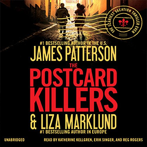 The Postcard Killers audiobook cover art