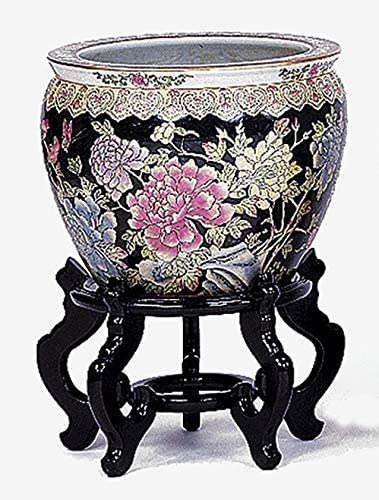 10 Inch Cheap super special price Shanton Porcelain Black It is very popular Pot