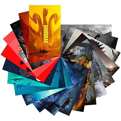 Godzilla Movie Sticker Set (Pack of 20)