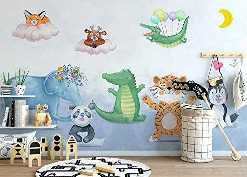 Papel pintado mural Lindo animal poster niños dormitorio pet shop aula foto papel tapiz DIY decorativo pegatinas de pared-350cmx256cm