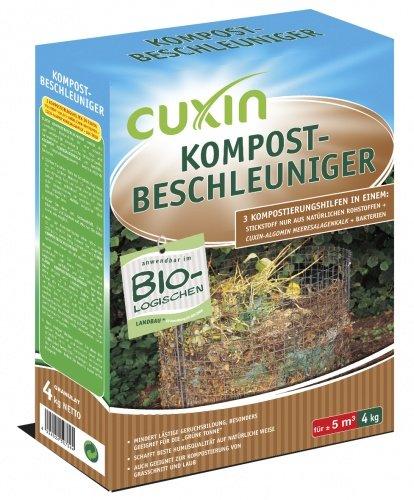 Peso acceleratore per compostaggio: 4 kg.