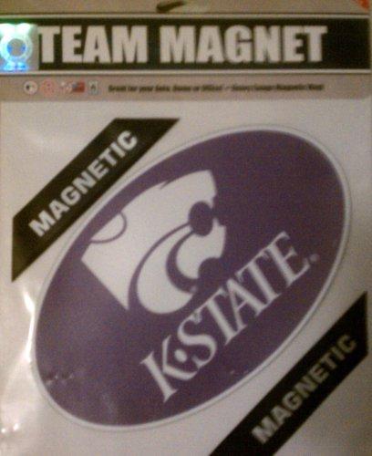 Fremont Die NCAA Kansas State - Imán de Vinilo de 20 cm, Talla única, Multicolor