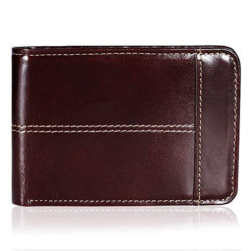 (67% OFF) Genuine Leather RFID Men's Minimalist Wallet $9.23 – Coupon Code