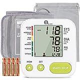 Misuratore di Pressione da Braccio Digitale, 1byone Sfigmomanometro da Braccio Pressione Arteriosa e...