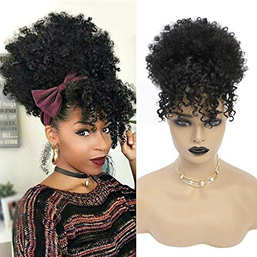 Afro ponytail wig _image1