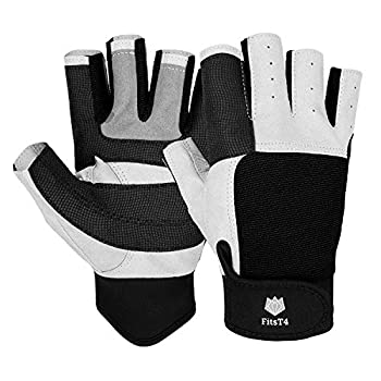 FitsT4 Sailing Gloves 3/4 Finger and Grip Great for Sailing Yachting Paddling Kayaking Fishing Dinghying Water Sports for Men and Women Black M