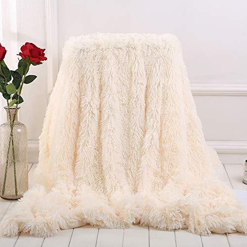 HBHB fluwelen deken, zacht, licht en comfortabel, helpt bij het slapen, verwarmend, wasbaar, 130 x 160 cm, 160 x 200 cm, 200 x 230 cm (17 kleuren)