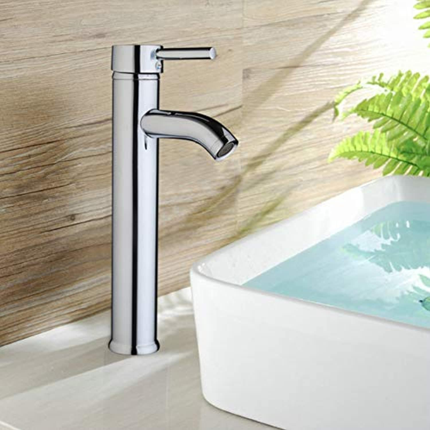 Decorry New Arrival  Single Handle Faucet Bathroom Basin Sink Mixer Chrome Polished Basin Faucet Deck Mounted Faucet torneira