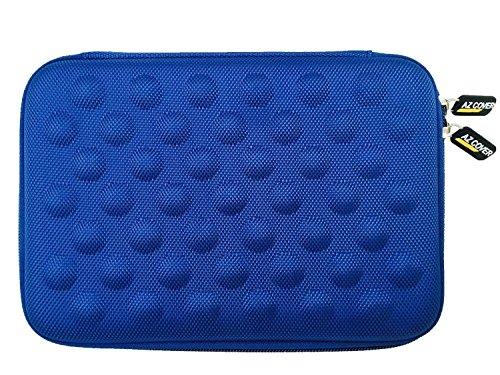 AZ-Cover 10-Inch Tablet Semi-rigid EVA Bubble Foam Case (BLUE) For Tagital T10 / Plus 10.1' Octa Core Tablet ONLY + One Capacitive Stylus Pen