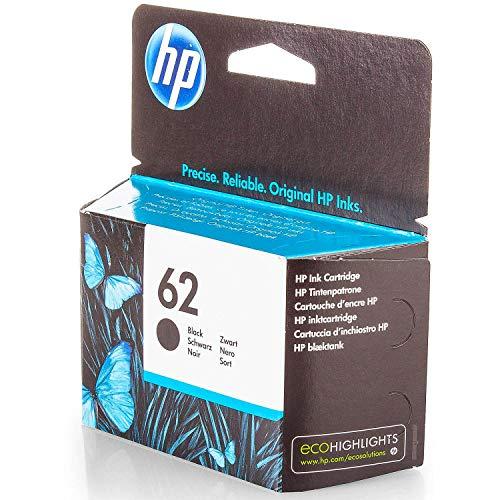 Original HP C2P04AE / 62, für Envy 5542 e-All-in-One Premium Drucker-Patrone, Schwarz, 200 Seiten