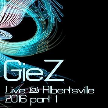 Live @ Albertsville, Pt. 1