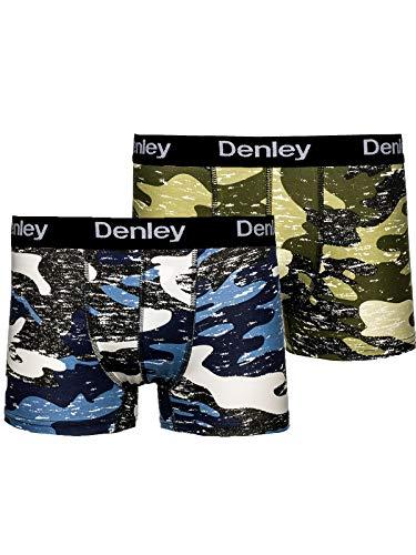 BOLF Herren Boxershorts Unterhosen Military Camouflage 2er Pack 0953-2P Mehrfarbig-1 XXL [1K3]