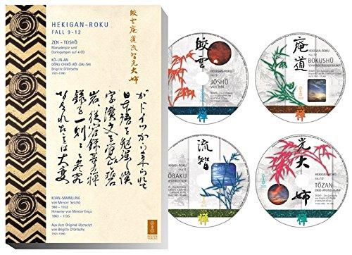 Hekigan-Roku. 4 Zen-Teisho 3. Fall 9-12. Die blaugrüne Felswand - mit 4 CDs