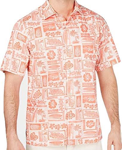 Tommy Bahama Lido Beach Camp Shirt (Color: Lt Havana, Size XL)