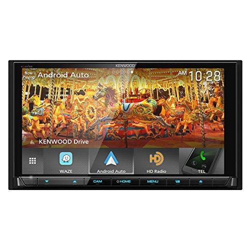 Kenwood Excelon DMX905S 6.95' WVGA Digital Multimedia Receiver with Apple CarPlay & Android...