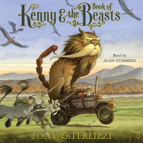 Page de couverture de Kenny & the Book of Beasts