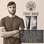 Viking Revolution Microdermabrasion Face Scrub for Men - Facial Cleanser for Skin Exfoliating, Deep Cleansing, Removing… 5