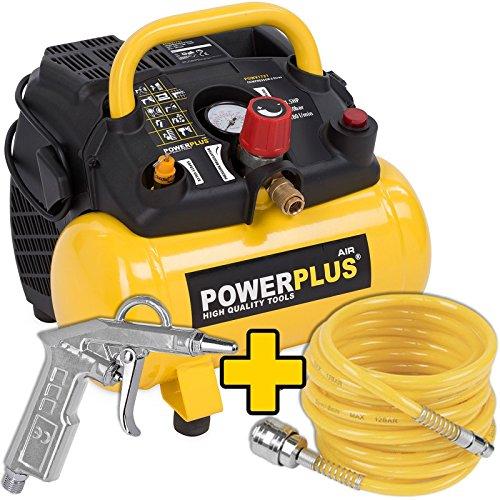 Powerplus Kompressor Set