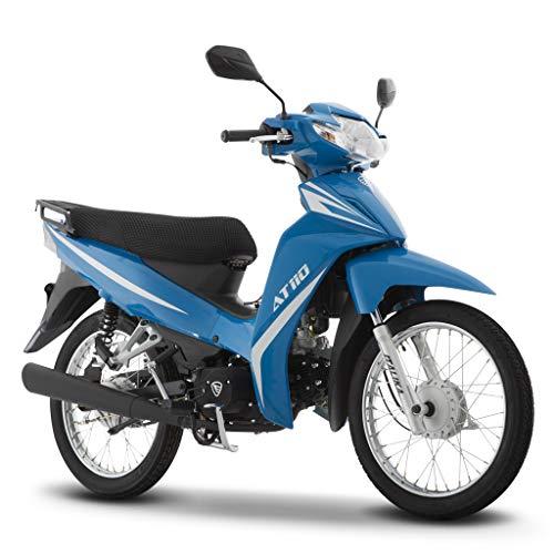 Motocicleta Italika de Trabajo- Modelo AT 110 Azul
