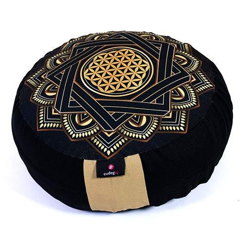 Cudegui Zafu o Cojín de meditación de Proteccion Sublimado
