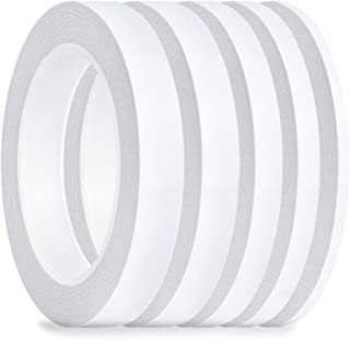 FEPITO 5 Pack Double face ruban multi-usages forte bande collante forte pour le bureau / artisanat / couture, 25m chaque r...