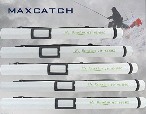 MMAXIMUMCATCHMaxcatchUltra-lite山岳渓流用フライロッド1/2/3ウェイトカーボンロッドフライフィッシングために設計された(1ウェイト6ft3ピース)