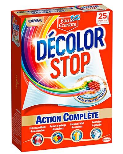 Décolor Stop Action Complète 25 Lingettes Anti-Décoloration