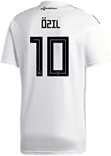 adidas Ozil #10 Germany Home Soccer Stadium Men's S/S Jersey World Cup Russia 2018