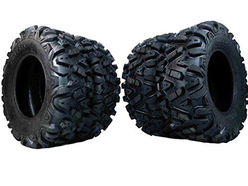 "4 New 25x8-12 25x10-12 KT MASSFX TIRE SET ATV TIRES 6 PLY 25"" 25x8x12 25x10x12"